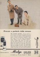 # MELYS GELEE VALLI CREMA MANI 1950s Advert Pubblicità Publicitè Reklame Moisturizing Hand Cream Creme Mains Protector - Sin Clasificación