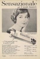 # CREMA DI BELLEZZA CIBA BINELIA 1950s Advert Pubblicità Publicitè Reklame Moisturizing Cream Creme Hydratante Protector - Non Classificati