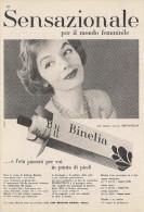 # CREMA DI BELLEZZA CIBA BINELIA 1950s Advert Pubblicità Publicitè Reklame Moisturizing Cream Creme Hydratante Protector - Profumi & Bellezza