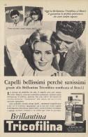 # BRILLANTINA TRICOFILINA, ITALY 1950s Advert Pubblicità Publicitè Reklame Hair Fixer Fixateur Cheveux Fijador Haar - Non Classificati