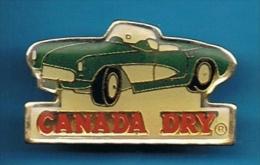 PIN´S //  ** CHEVROLET ** CORVETTE ** CONVERTIBLE ** CANADA DRY® ** - Corvette