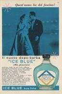 # AQUA VELVA WILLIAMS AFTER SHAVING JBCompany 1960s Advert Pubblicità Publicitè Reklame Parfum Profumo Cosmetics - Parfums & Beauté