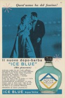 # AQUA VELVA WILLIAMS AFTER SHAVING JBCompany 1960s Advert Pubblicità Publicitè Reklame Parfum Profumo Cosmetics - Perfume & Beauty