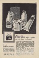 # SHULTON NEW YORK OLD SPICE AFTER SHAVING 1960s Advert Pubblicità Publicitè Reklame Parfum Profumo Cosmetics - Parfums & Beauté