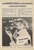 # MAQUILLAGE GEMEY 1950s Advert Pubblicità Publicitè Reklame Beauty Powder Moisturizing Cream Creme Hydratante Protector - Unclassified