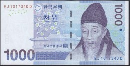 South Korea 1000 Won 2007 P54 UNC - Corea Del Sur