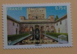 UNESCO  148Patio Des Myrtes De L'Alhambra - Servizio