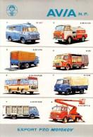 """02067  """"AVIA - MARCHIO DI FABBRICA CECOSLOVACCA DI AUTOCARRI"""" 1919 - 1979.  60° ANNIVERSARIO. ADESIVO ORIGINALE, 1979. - Camion"""