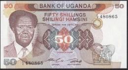 Uganda 50 Shillings 1985 P20 UNC - Ouganda