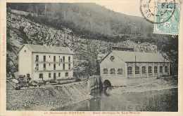 0715 681: Saut-Mortier  -  Usine électrique - France