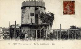 PARIS Monmartre La Tour Du Philosophe - Arrondissement: 18