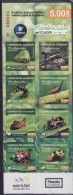 ECUADOR , 2015, MNH,  INSECTS, ANTS, BOOKLET , NICE - Insecten
