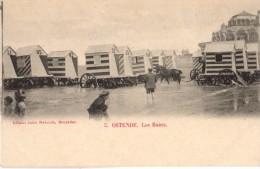C.P.A Belgique - 8400 Ostende - Les Bains - Ed. Jules Nabrath - Belgique