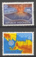 INDONESIA MNH ** 1983 ZBL 1164-65 VOLCANO VULKAAN MNH ** - Indonésie