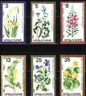 BULGARIA \ BULGARIE - 1982 - Med.Plants - 6v ** MNH - Ungebraucht