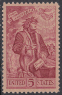 !a! USA Sc# 1268 MNH SINGLE - Dante Alighierei - Etats-Unis
