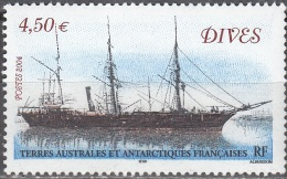 TAAF 2004 Yvert 388 Neuf ** Cote (2015) 18.00 Euro Navire Dives - Terres Australes Et Antarctiques Françaises (TAAF)