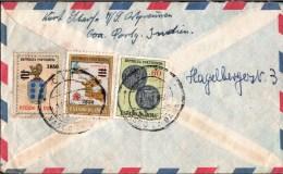 ! 1960 Brief Goa to Rabensteinfeld b. Schwerin, Portugiesisch Indien