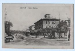 5206  Cpa   BRESCIA  Viale Stazione   1917 - Brescia