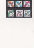 HONGRIE - POSTE AERIENNE N° 422 A 427 NEUF X  J.O.LAKE PLACID 1980