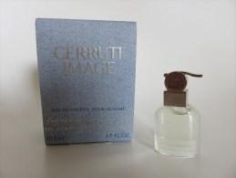 Cerruti Image - Eau De Toilette Pour Homme - Modern Miniaturen (vanaf 1961)