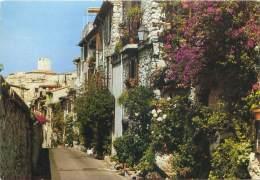 CPM - 06 - ANTIBES - La Rue Du Haut Castelet : Accès Fleuri Au Coeur De La Vieille Ville - Antibes