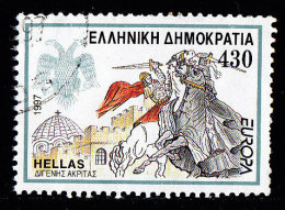 GREECE - Scott #1874 EUROPA '97, Tales And Legends  / Used Stamp - Greece