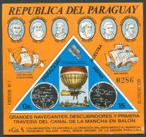 PARAGUAY - SPACE COSMOS Mi # Bl 227 SPECIMEN - MINT NO GUM - Paraguay