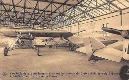 Belgie Bruxelles-Haren Vue Interieure D'un Hangar Abritant Les Avions ... 1932 - Belgique