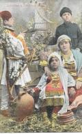 Costumes à Salonique - Famille Grècque - Edition Jacques Saul - Carte Colorisée, Non Circulée - Europe