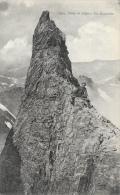 Escalade - Dans Les Alpes - Un Monolithe - Edition Goutagny - Carte Non Circulée - Escalade