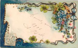 Bonne Année - Carte Gaufrée - Nouvel An