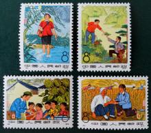 MEDECINS RURAUX 1974 - NEUFS ** - YT 1927/30 - MI 1198/01 - DENTELES 11 - 11 1/2 - Unused Stamps