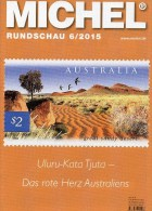 MICHEL Briefmarken Rundschau 6/2015 Neu 6€ New Stamps Coins World Catalogue And Magacine Of Germany ISBN 9 783954 025503 - Zeitschriften: Abonnement