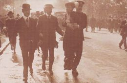 SUFFAGETTE INTEREST. MRS PANKHURST BEING ARRESTED. REPRINT - People