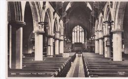 FARNHAM PARISH CHURCH INTERIOR - Surrey