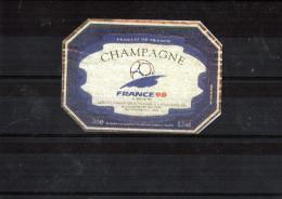 CHAMPAGNE - Coupe Du Monde 98 (12.5) - Soccer
