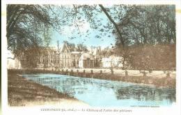 91-101 - ESSONNE - COURANCES - Le Chateau Et L' Allée Des Platanes - Altri Comuni