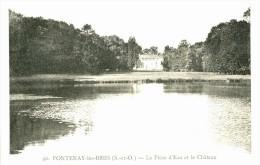 91-109 - ESSONNE - FONTENAY LES BRIIS - La Pièce D'eau Et Le Chateau - Altri Comuni