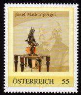 ÖSTERREICH 2009 ** Josef MADERSPERGER / Erfinder Der Nähmaschine - PM Personalisierte Marke MNH - Textil