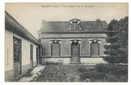 CPA - GAMBAIS, VILLA LANDRU, VUE DU COTE JARDIN - Yvelines 78 - Autres Communes