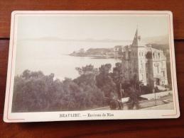 1880-1900 Photo Beaulieu Environs De Nice - Old (before 1900)