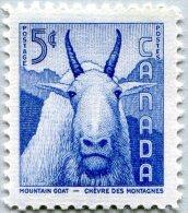 N° Yvert 288 - Timbre Du Canada (1956) - MNH - Chèvre Des Montagnes (JS)