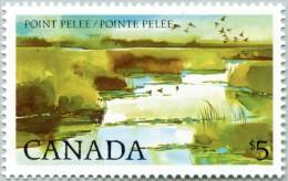 N° Yvert 827 - Timbre Du Canada (1983) - MNH - Parc National De La Pointe Pelée (JS) - 1952-.... Reign Of Elizabeth II