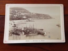 1880-1900 Photo Nice Entree Du Port (06 Alpes Maritimes) - Photographs