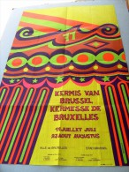 KERMESSE de BRUXELLES 17.7 - 23.8. 1971 KERMIS VAN BRUSSEL. Strick Daniel