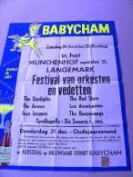 LANGEMARK Munchenhof festival orkesten vedetten (1970 was een zaterdag 31.12) Burt Blanca Babycham sweet & dry