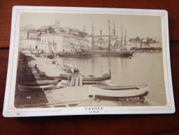 1880-1900 Photos Cannes Le Port  (06 Alpes Maritimes) Souchon - Photographs