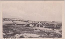 Malta- Malte :  St Paul's  Hospital  Camp - Malte