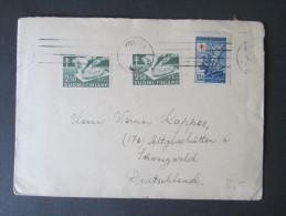 Finnland 1947. Schöner Beleg. MiF. Bekämpfung Der Tuberkulose - Finland